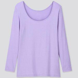 UNIQLO Women's HEATTECH Scoop Neck T-Shirt - XS